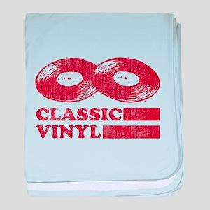 Classic Vinyl baby blanket