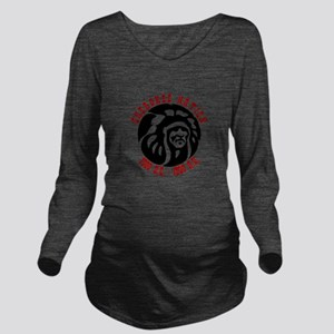 Cherokee Nation Long Sleeve Maternity T-Shirt