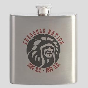Cherokee Nation Flask