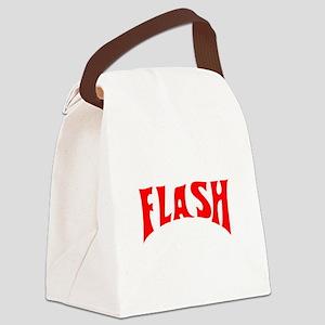 flash1 Canvas Lunch Bag