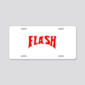 flash1 Aluminum License Plate