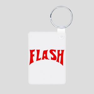 flash1 Aluminum Photo Keychain