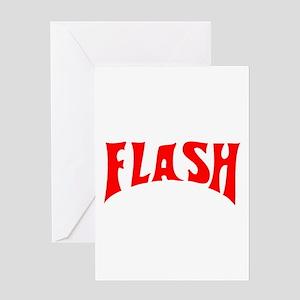 flash1 Greeting Card