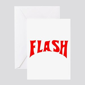 Flash greeting cards cafepress flash1 greeting card m4hsunfo