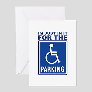 parking1 Greeting Card