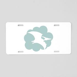 Pterodactyl Aluminum License Plate