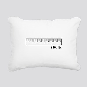 i Rule Rectangular Canvas Pillow