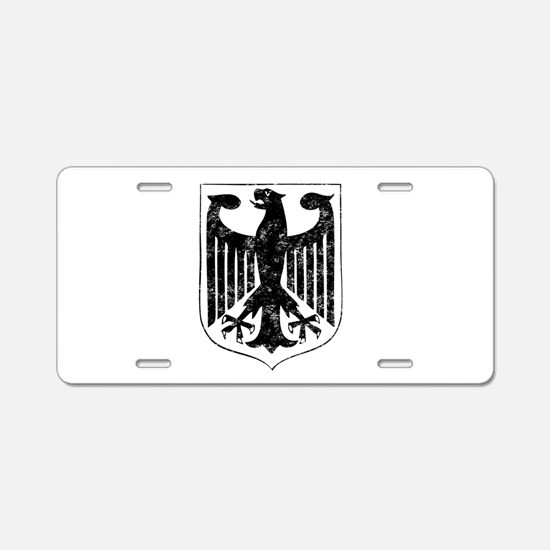 german-eagle-w.png Aluminum License Plate