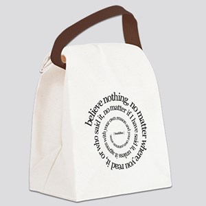 buddha-w Canvas Lunch Bag