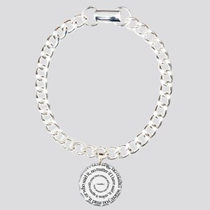 buddha-w Charm Bracelet, One Charm