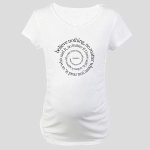 buddha-w Maternity T-Shirt