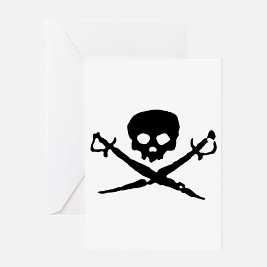 skull2-w.png Greeting Card