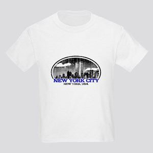 NYC-white Kids Light T-Shirt