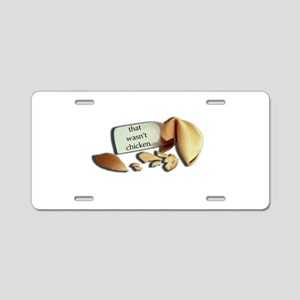 cookie-w Aluminum License Plate