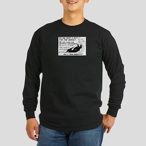 sexy-lady Long Sleeve Dark T-Shirt