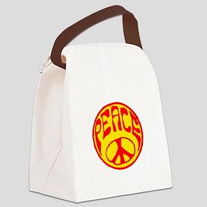 peace-n-w Canvas Lunch Bag