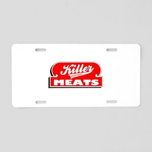 killer-n-w Aluminum License Plate
