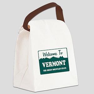 vermont1 Canvas Lunch Bag