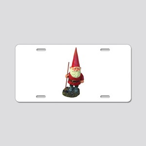 elf-n-w Aluminum License Plate