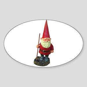 elf-n-w Sticker (Oval)