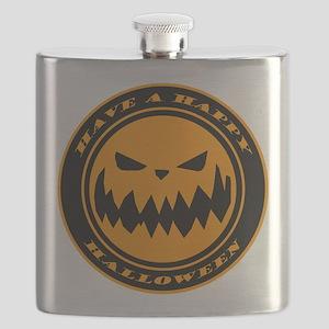 HALLOWEEN-PUMPKIN-n-w Flask