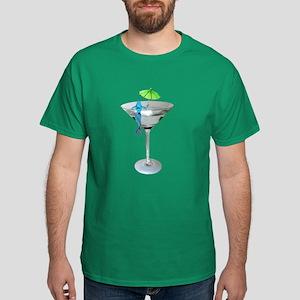 Mermaid Martini Dark T-Shirt