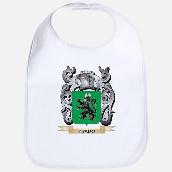 Prado Coat of Arms - Family Crest Baby Bib