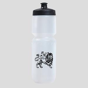raw-lion-b Sports Bottle