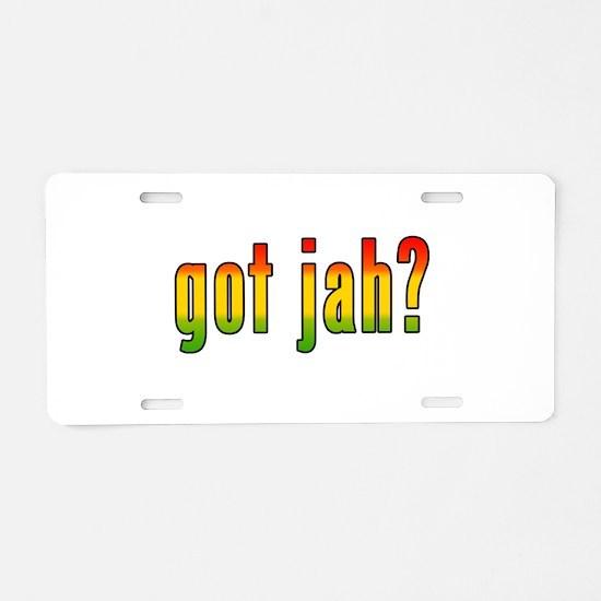gotjah-w.png Aluminum License Plate