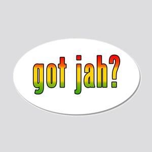 gotjah-w.png 20x12 Oval Wall Decal