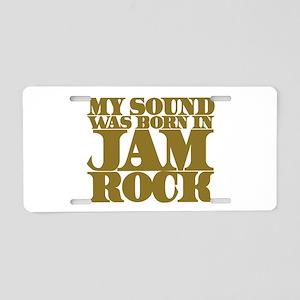 jamrock-w Aluminum License Plate