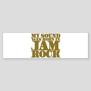 jamrock-w Sticker (Bumper)