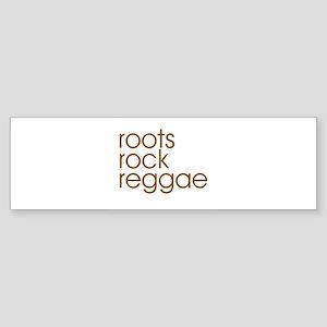 blooming-reggae-w Sticker (Bumper)