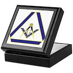 The Masonic Triangle Keepsake Box