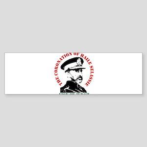 lionofjudah-w Sticker (Bumper)