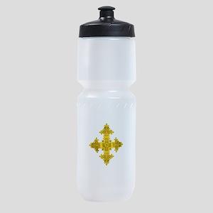 rasta-cross-w Sports Bottle