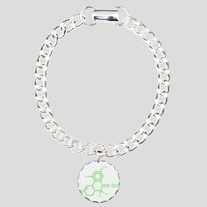 thc-w Charm Bracelet, One Charm