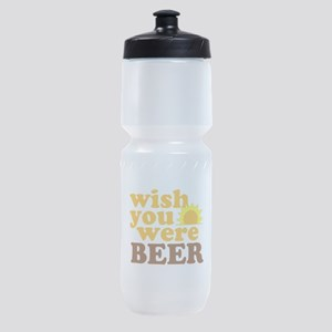 wish you were BEER Sports Bottle