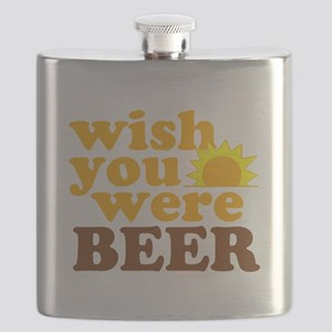 wish you were BEER Flask