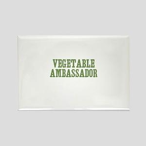 vegetable ambassador Rectangle Magnet