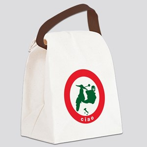 ciao-scooter Canvas Lunch Bag