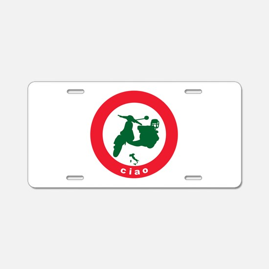 ciao-scooter.png Aluminum License Plate