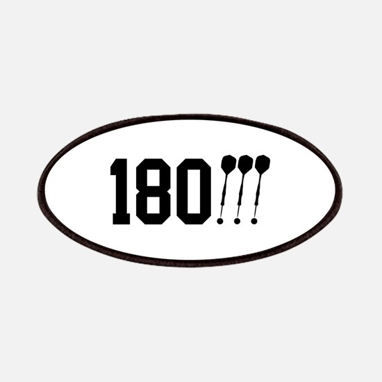180 Darts!!! Patches