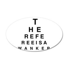 Blind REFEREE Wall Decal
