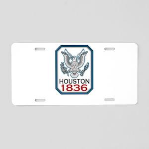 houston-1836 Aluminum License Plate