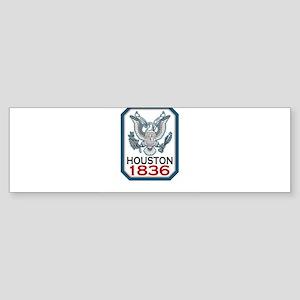 houston-1836 Sticker (Bumper)