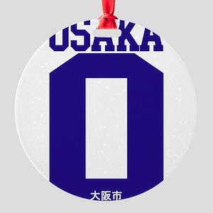 osaka-1 Round Ornament
