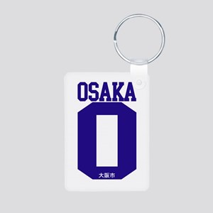 osaka-1 Aluminum Photo Keychain
