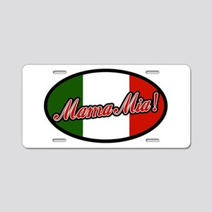 mamamia Aluminum License Plate