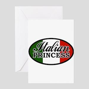 italian-princess Greeting Card